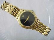 Movado Solid Gold Watch