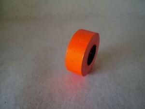 12000-Etiquetas-de-precios-21x12-luminoso-rojo-permanente-Etimark-Motex-Herlitz