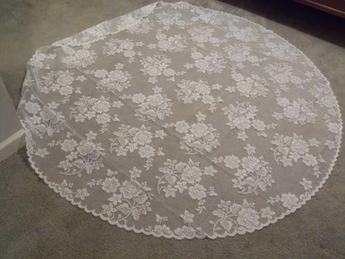 Round Lace Tablecloth Ebay