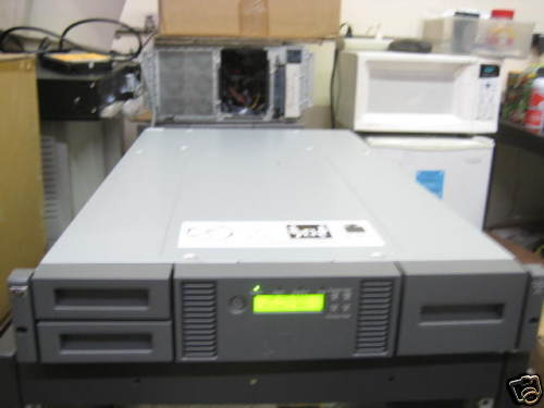 HP MSL2024 AK379A 407351-002  Library NO Drive, Enclosure only