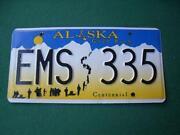 Nummernschild Alaska