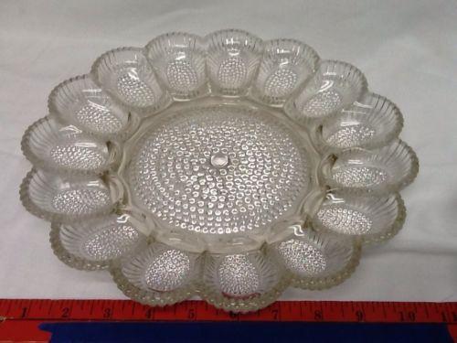 Vintage Deviled Egg Platter Ebay