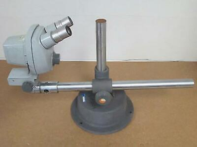 Bausch Lomb Stereozoom Series 5 Microscope 0.7x-3x Wheavy Duty Boom Stand