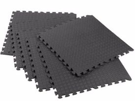 15 interlocking Eva soft foam exercise floor mats gym,garage,house and office mats.