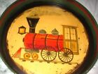 Red Tole Antique Tole Platters & Trays