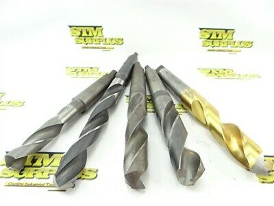 - Size: 1-7//32 LOC: 7-1//2 Taper Length Drill OAL: 12-1//8 H.S.S