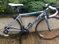 Ladies road bike 43cm frame. Suit height 4'10- 5'3. As new condition.