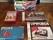 Vintage Board Game Lot