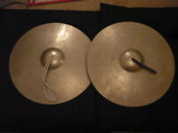 Rare Vintage Stambul Paiste Cymbals 15.25 inch 1214 grms per cymbal