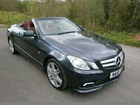 Mercedes Benz E350cdi Convertible 3.0TD 7G-Tronic Convertible 2987cc Diesel