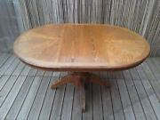 Antique Pine Dining Table and Chairs