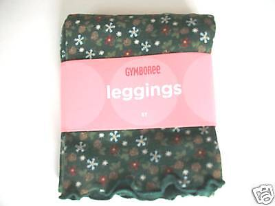 NWT Gymboree MOUNTAIN CABIN Forest Green Pinecone Leggings TWINS 2 2T
