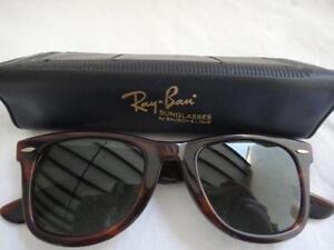 bce7429332 Vintage Ray-Ban Tortoise Wayfarers