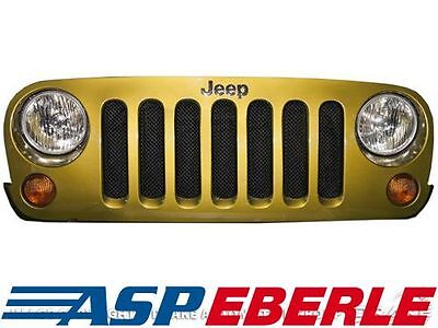 Kühlerschutz schwarz Drake Jeep Wrangler JK 07-18
