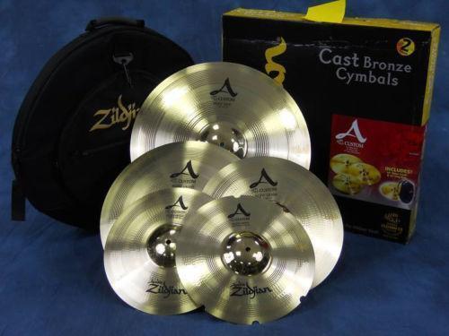 zildjian a custom pack cymbals ebay. Black Bedroom Furniture Sets. Home Design Ideas