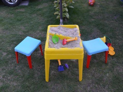 sand wasser tisch ebay. Black Bedroom Furniture Sets. Home Design Ideas