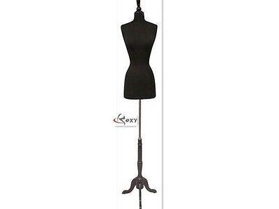 High Quality Size 6-8 Female Mannequin Dress Form F68bk Bs-02bkx
