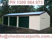SHEDS 12X6X2.4 GARAGE SHEDS COLORBOND SHEDS GARAGES CABOOLTURE Caboolture Caboolture Area Preview
