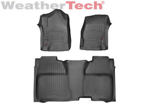Weather Tech mats Full set GMC/CHEVY 2014-2017