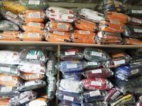 Job Lots 1500 Pairs Assorted Football Socks Rugby Hockey Sports Socks