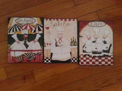 Chef Wall Decals Ebay