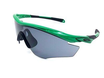 Oakley Sunglasses OO9212-25 M2 Frame Team Bright Green w/ Grey Lens Fast (Oakley M2 Frame Sunglasses)