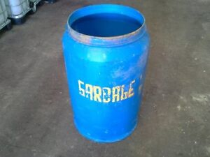 Barrels - 55Gal Steel Barrel - Open top - 55Gal Plastic Barrel