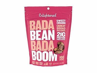 как выглядит Enlightened Gluten-Free Roasted Broad Fava Bean Crisp Snack, Sweet Cinnamon, 3 O фото