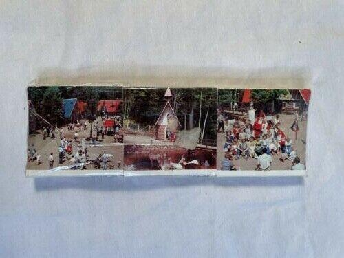 Souvenir matchbooks of Santa