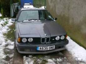 Registration Number- A635 ONE - Perfect for E24 BMW 635 CSi