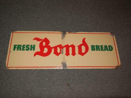 Antique bread sign ebay