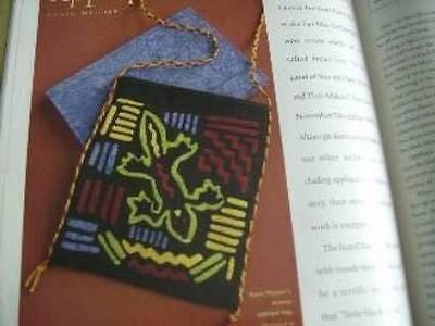 Piecework Mag Sept/Oct 2005  Kaffe Fassett Jockey Cap Baby Quilt Knit A Quil