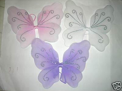 ~* X SMALL FAIRY WINGS~TINKERBELL ANGEL DRESS UP (Tinkerbelle Wings)