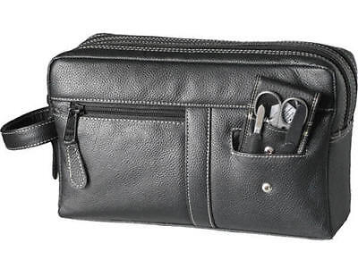 Hans Kniebes Germany - Leather Toiletries Bag