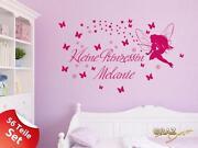Wandtattoo Kinderzimmer Prinzessin