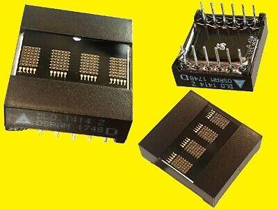 Dlo1414 -20 Led Alphanumeric Dot Matrix Display 4 Digit 5x7 Rot 1 Stck