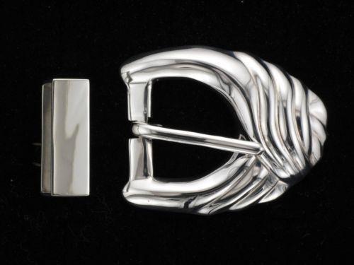 Solid Silver Belt Buckle Ebay