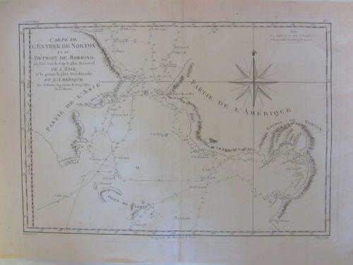 Antique Alaska Map Ebay