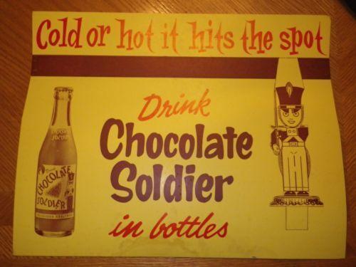 Chocolate Soldier Soda Ebay