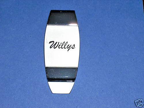 WILLYS   -  money clip ORIGINAL BOX