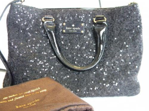 hermes bags - Kate Spade Handbag - Leather, Quilted, Black, Pink | eBay