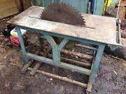 Logging Saw Bench