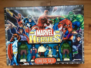 Marvel Heroes Chess Set-VERY RARE. MINT CONDITION ONLY 100$..... London Ontario image 6