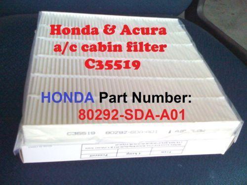 Honda Crv Cabin Filter