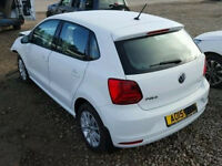 Damaged Salvage VW polo 2015 6c