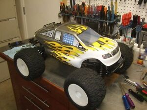 Losi LST2 And Traxxas Revo 3.3 And Lots Of Extras