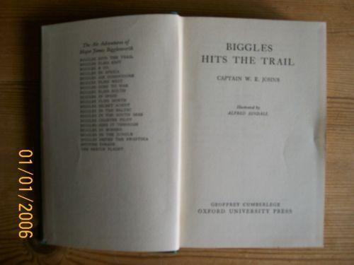 Biggles does some homework ebay