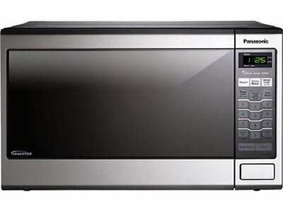 Panasonic NN-SN671S Family Size 1.2 Cu. Ft. Countertop Microwave Oven