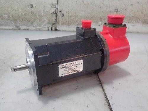 Used Fanuc A06b-0522-b031-r,fanuc 1-0 Ac Servo Motor,90v,2000rpm,repaired,boxyo