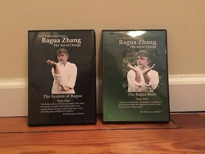 BAGUA ZHANG (2) DVD Set chinese chi kung eight changes chin na body system palm